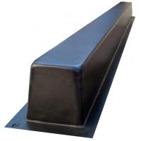 Форма для бетонного столба, балка под памятник из АБС пластика. Размеры 100х80х1400мм