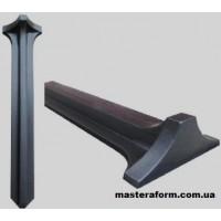 Форма для ножки стола №3 из АБС пластика. Размеры: 1300х30х160 мм