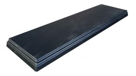 Форма для седла скамейки №2 из АБС пластика. Размеры: 1100х300х55 мм