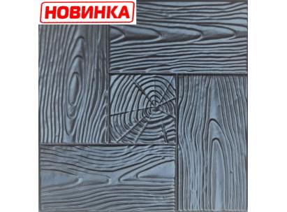 "Форма для изготовления плитки №15 ""Дерево"" 400х400х40 мм"