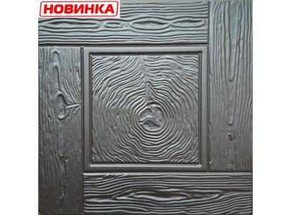 "Форма для изготовления плитки №27""Дерево"" 500х500х50 мм"