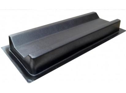 Форма для изготовления водостока №1. Размеры: 470х160х50 мм