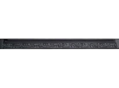 Форма декоративной вставки для забора из АбС. Размеры: 2000х160х60/40 мм