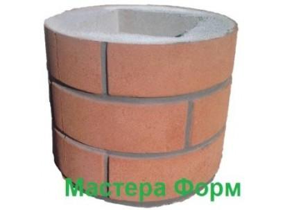 Форма столба наборного Круглый-1 Размеры: 250х250х300 мм