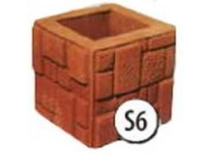 Форма столба наборного S6 Размеры: 250х250х250 мм
