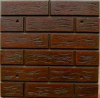 Форма для фасадной плитки №10 Размеры: 500х500х20 мм, (4 шт/м2)