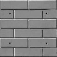 Форма для фасадной плитки №3 Размеры: 500х500х20 мм, (4 шт/м2)