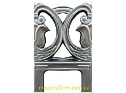 Форма для изготовления оградок №10а Размеры: 500х900х45 мм