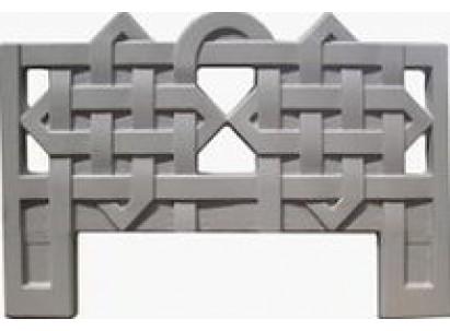Форма для изготовления оградок №3 Размеры: 1000х700х40 мм