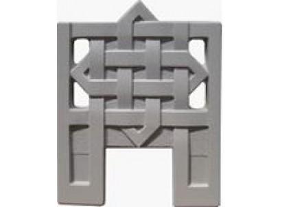 Форма для изготовления оградок №4 Размеры: 550х700х40 мм
