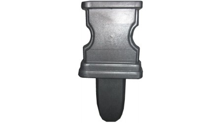 Форма для ножки скамейки №1 из АБС пластика. Размеры: 400х350х70 мм