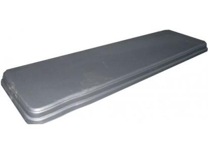 Форма для седла скамейки №1 из АБС пластика. Размеры: 1200х350х50 мм