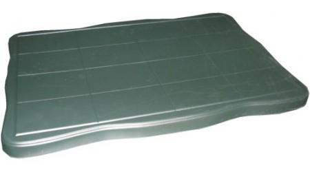 Форма для столешницы №1 из АБС пластика. Размеры: 1000х650х50 мм