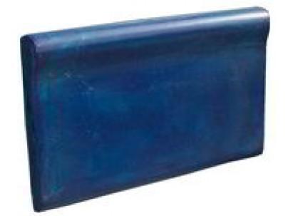 Форма для изготовления бордюра  №12 для бассейна 490х300х25 мм