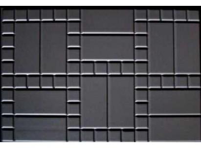 """Форма для изготовления плитки №33 """"Блок дорожный""""750х500х80 мм"""
