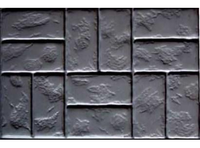 "Форма для изготовления плитки №34 ""Римский камень"" 750х500х80 мм"