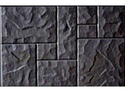 """Форма для изготовления плитки №37 """"Колотый камень"""" 750х500х80 мм"""