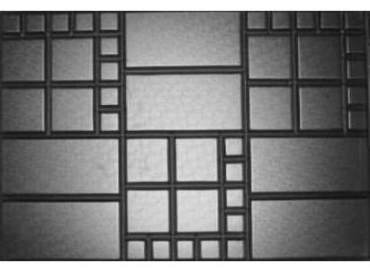 """Форма для изготовления плитки №38 """"Шоколадка"""" 750х500х80 мм"""