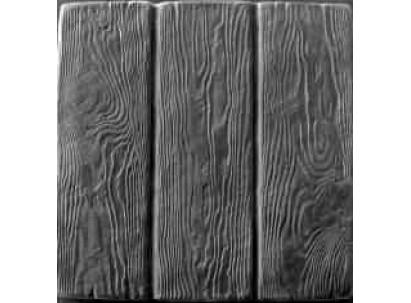 """Форма для изготовления плитки №17 """"Дощечки"""" 460х460 мм"""