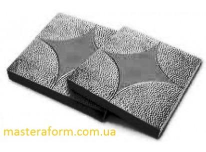"""Форма для изготовления плитки """"Звезда"""" 300х300х30 мм"""
